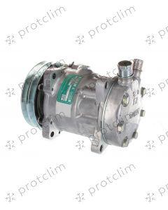 COMPRESSEUR SANDEN 7H15 8062 /8024/ 4664 / 7825 PV8 132 mm Oring Vertical JE/JD 12V
