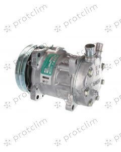 COMPRESSEUR SANDEN 7H15 7866 / 8017 / 8061 2G 132 mm Oring Vertical JE/JD 24v